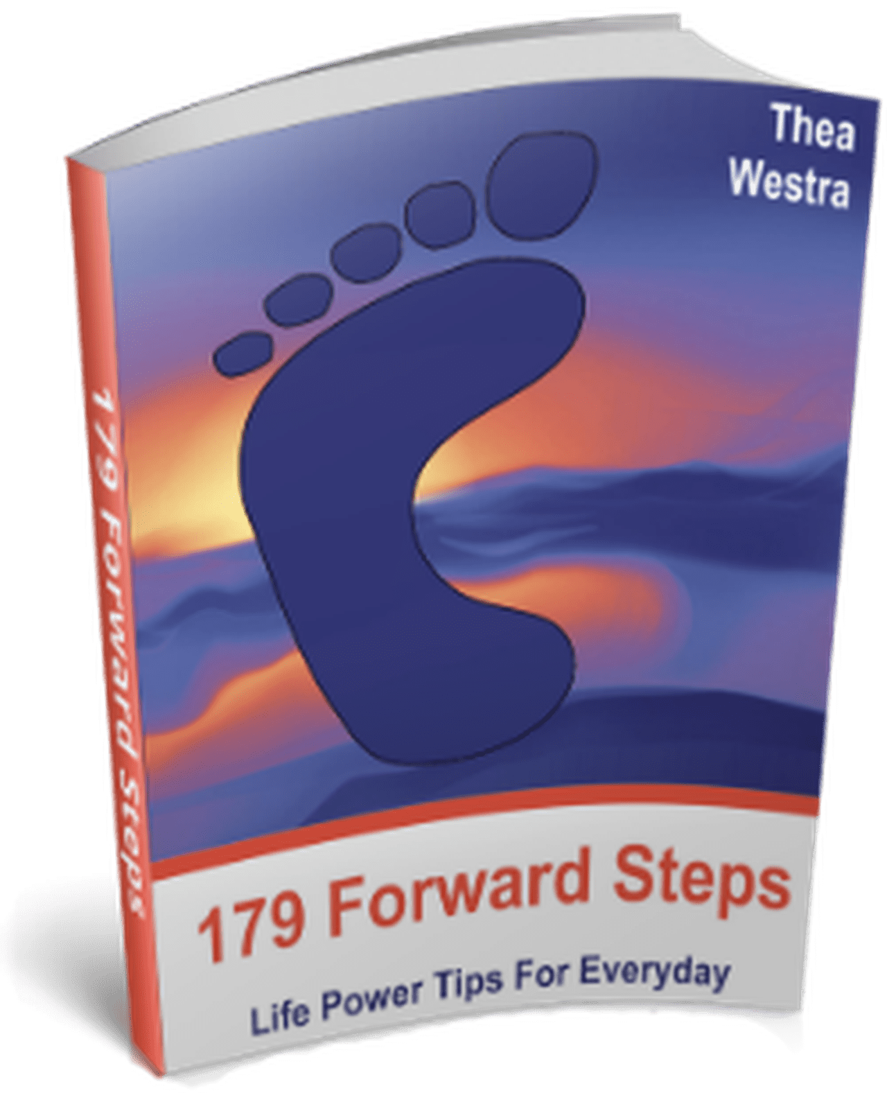 Self Improvement book with title 179 Forward Steps