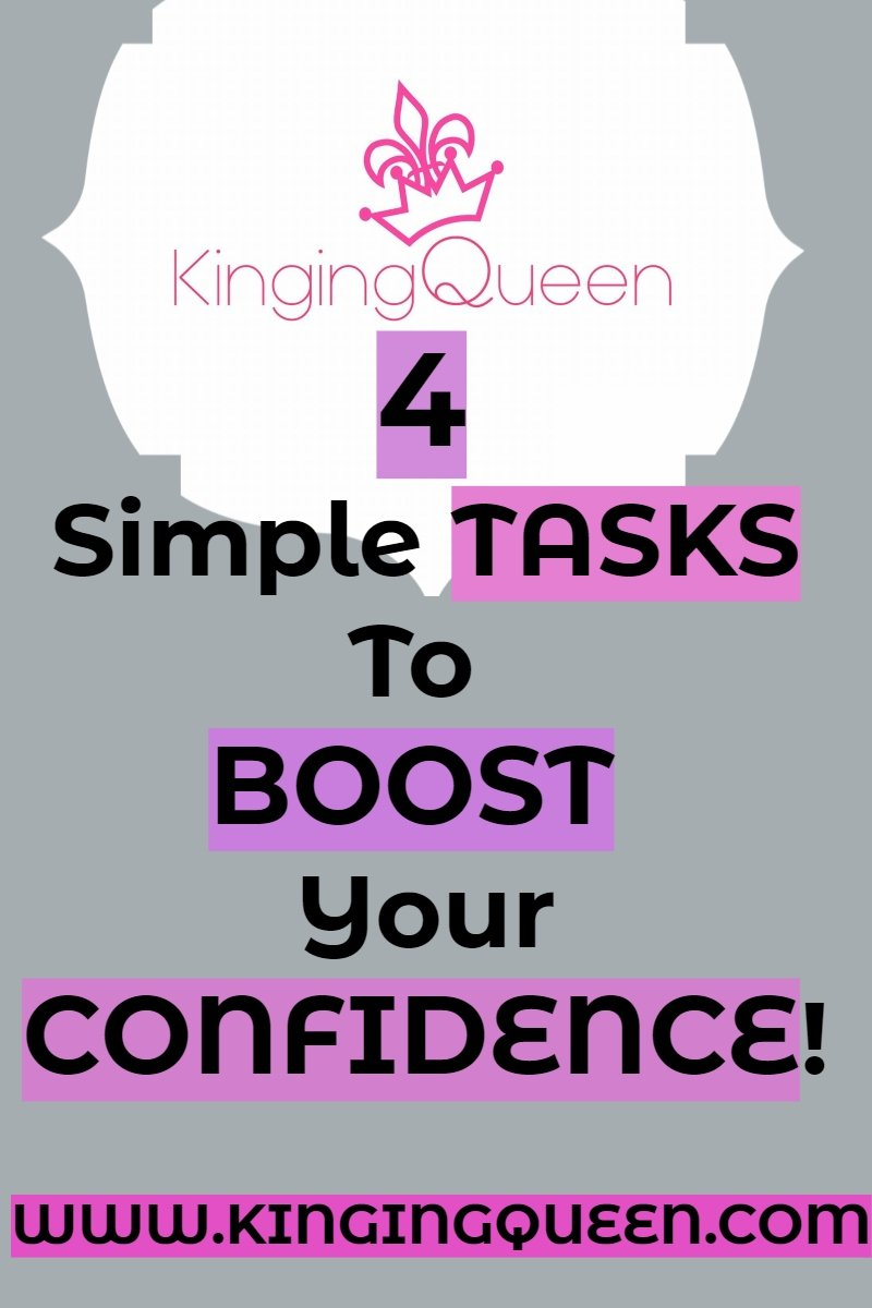 Four tasks to boost your confidence