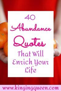 quotes about abundance, quotes on abundance, abundance quotes