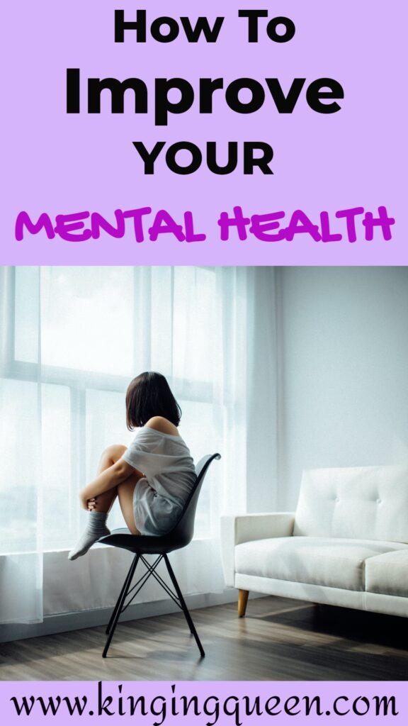 how to improve your mental health